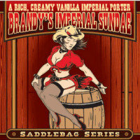 Mustang - Brandy Porter (label) 2